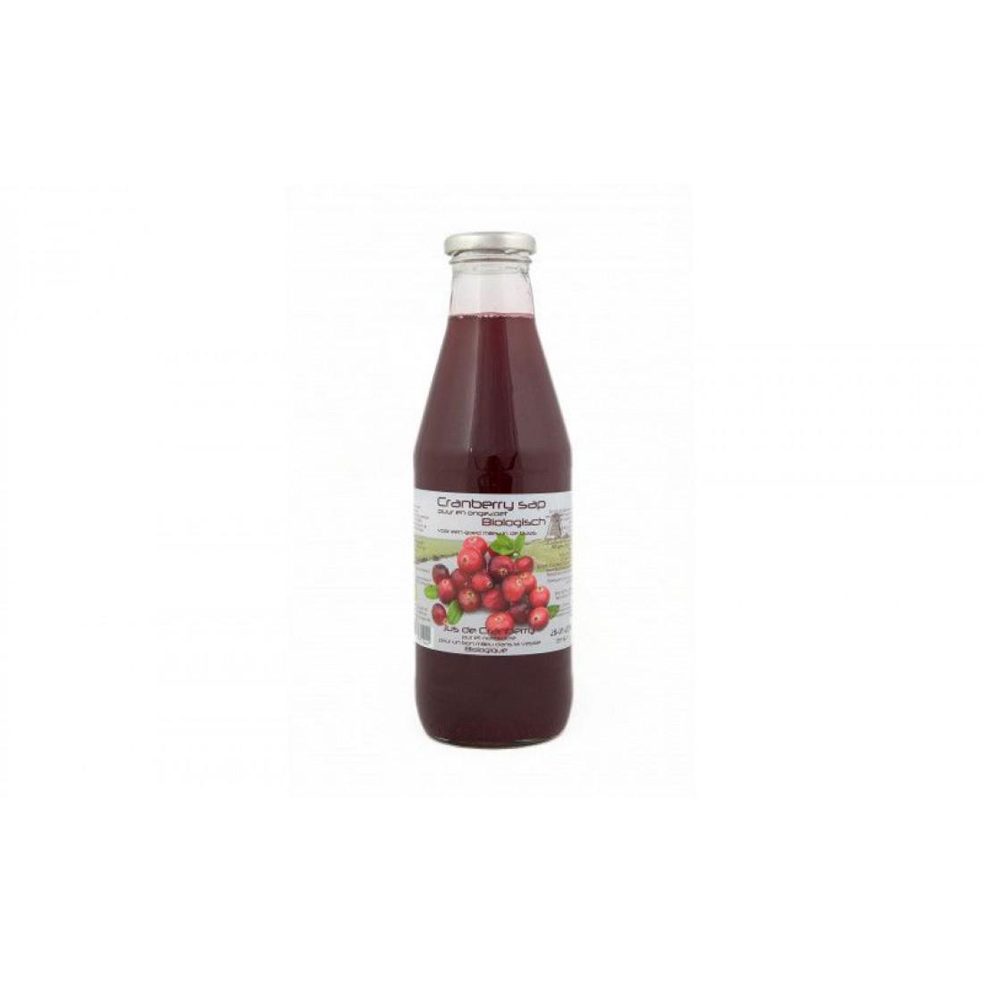 Cranberrysap biologisch