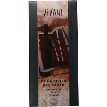 Bio chocoladereep 85% puur