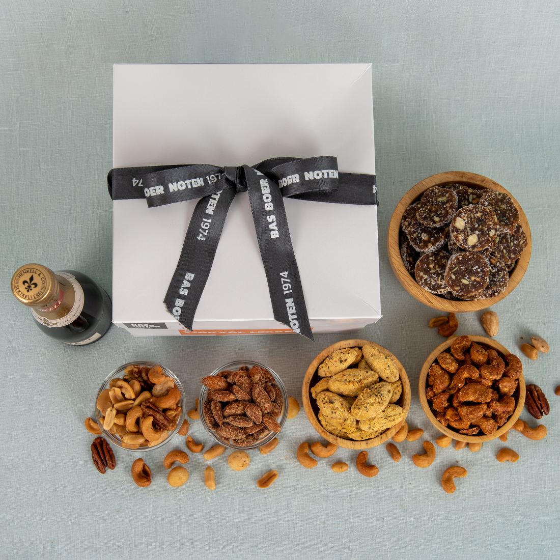 Borrelbox noten & bubbels