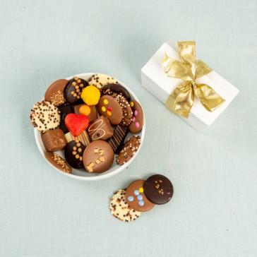Chocolade & bonbons cadeau doosje