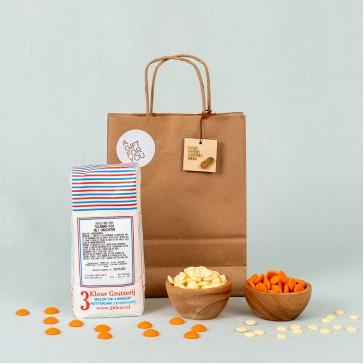 Oranje tulband pakket