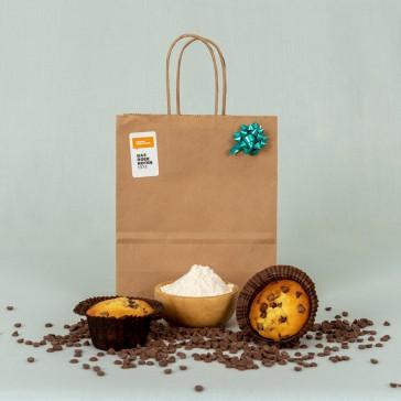 Cadeau bak pakket muffins maken