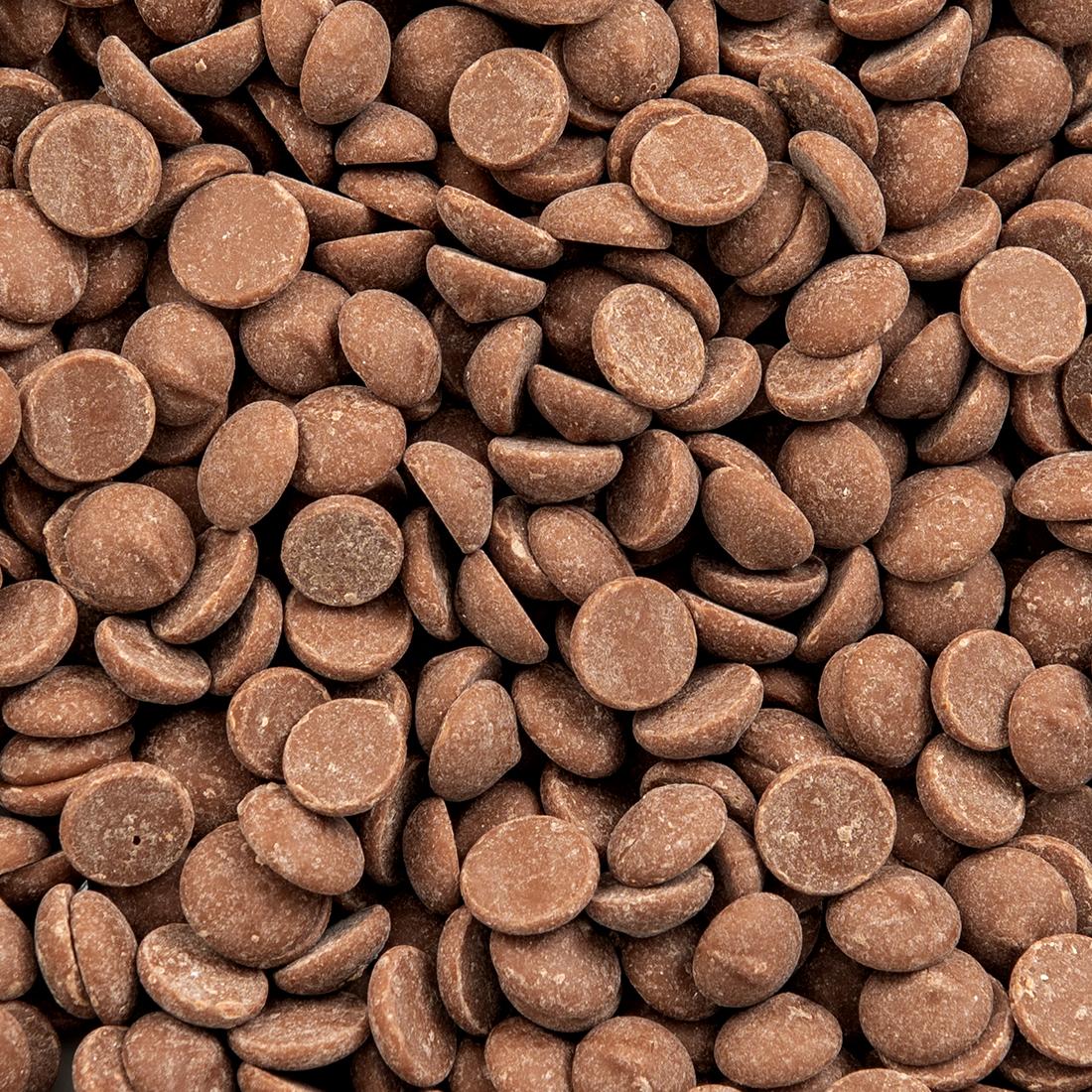 Melkchocolade druppels