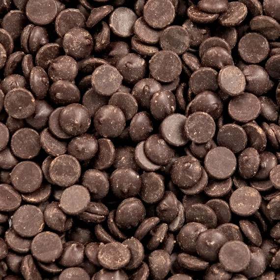 Chocolade druppels 54,5% puur