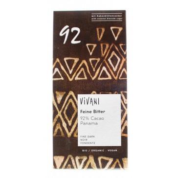 Chocolade reep 92% puur