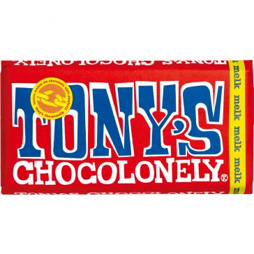 Tony's chocolonely melkchocolade
