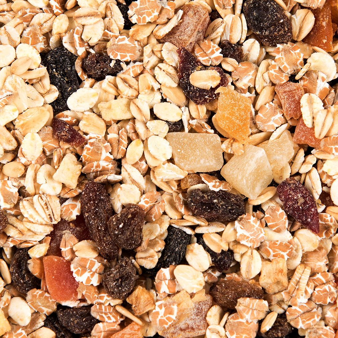 Cranberry fruit muesli