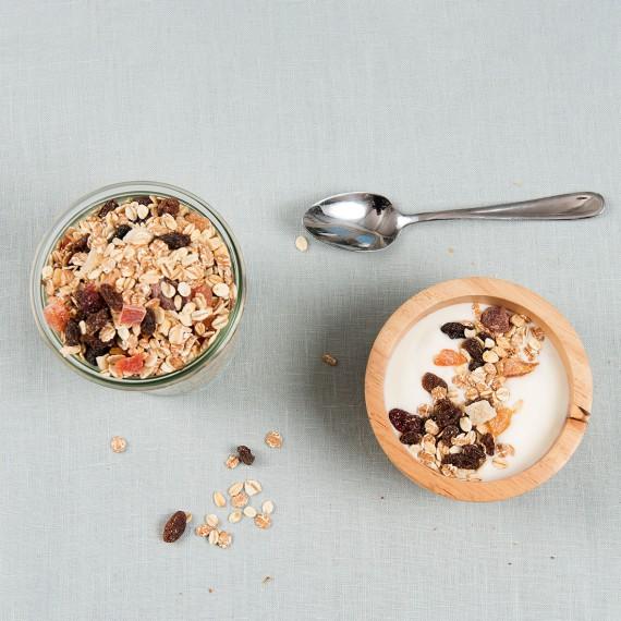 Cranberry fruit muesli