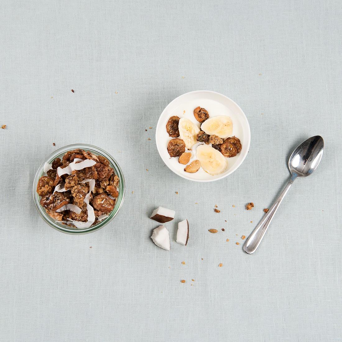 Granola kokos & banaan
