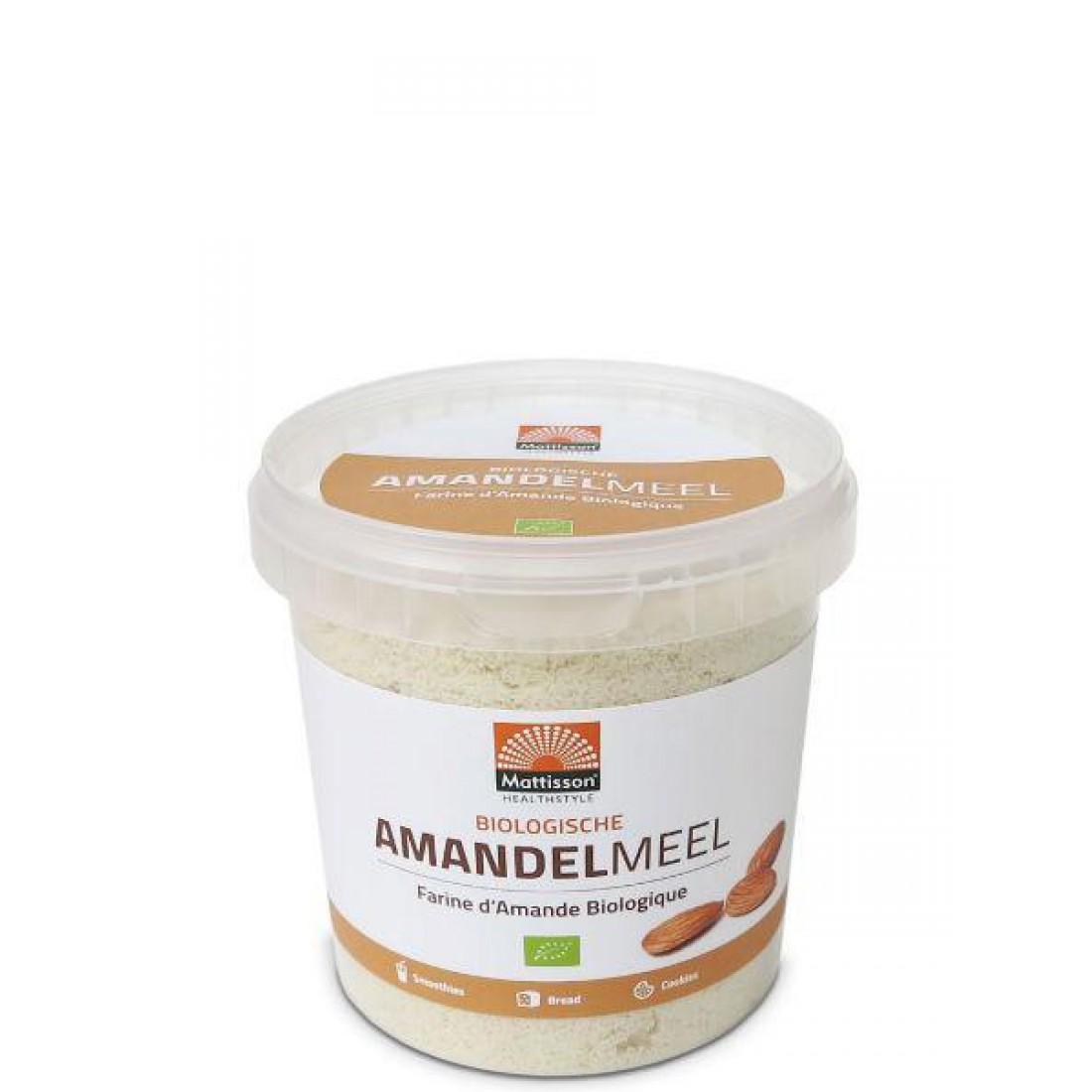 Amandelmeel glutenvrij & biologisch