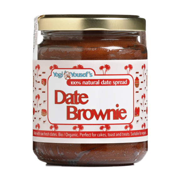 Dadel brownie pasta
