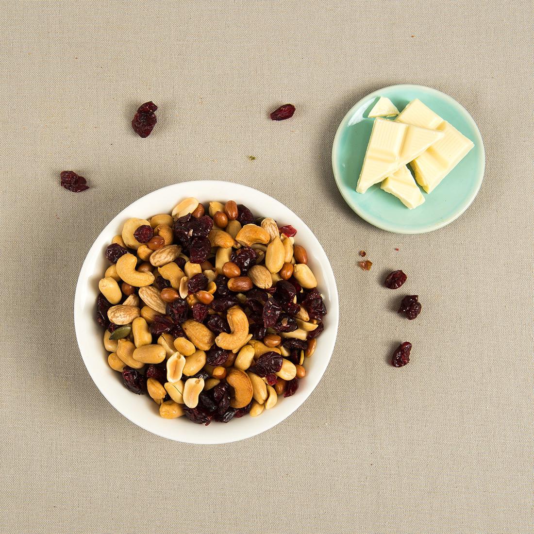 Cranberry notenmix gebrand