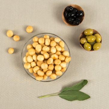 Macadamia noten gezout
