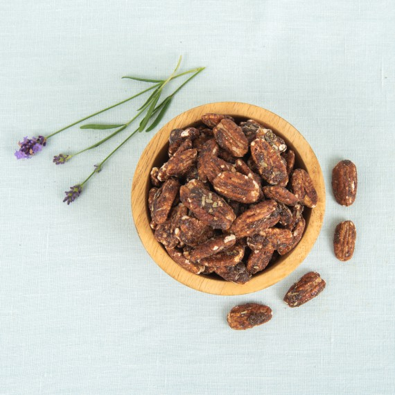 Pecannoten honing & lavendel