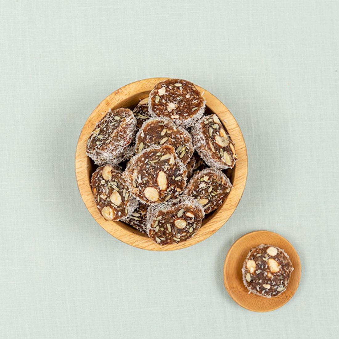 Dadel noten bites