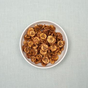 Bananenschijfjes biologisch