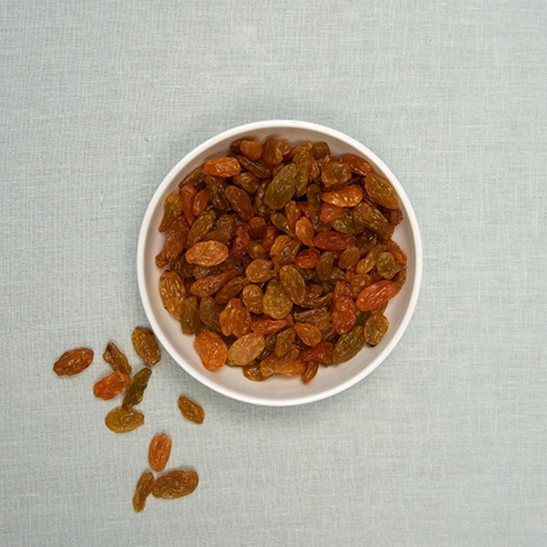 Rozijnen geel jumbo
