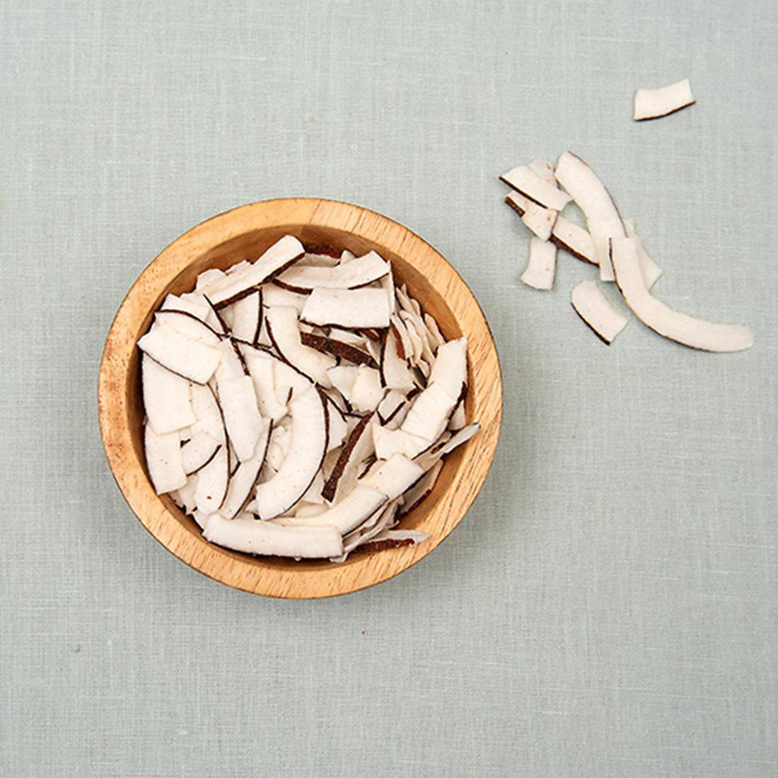Kokos snippers bio