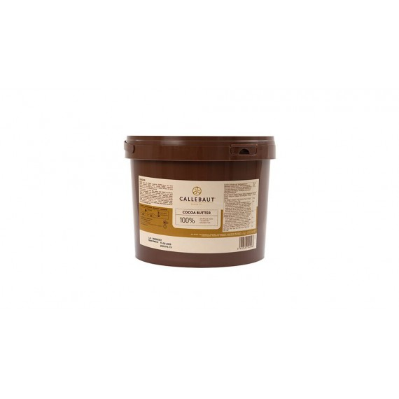 Cacaoboter Callebaut 4L